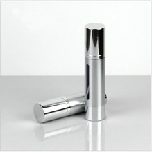 30ml silver/gold plastic airless bottle for serum/lotion/toner/emulsion/gel/essence skin care refillable portable packing