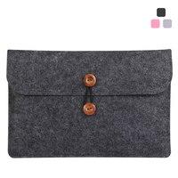 Unisex For Macbook Air Pro Retina 11 13 15 Laptop Bag Case Slim Soft Wool Felt