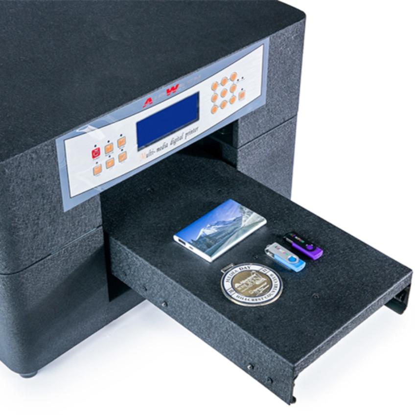 Høj kvalitet A4 Uv-printer til Pvc-id-kort, telefonhylster med - Kontorelektronik - Foto 3
