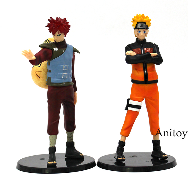 Naruto & Gaara Action Figure PVC Toys (2Pcs Set)