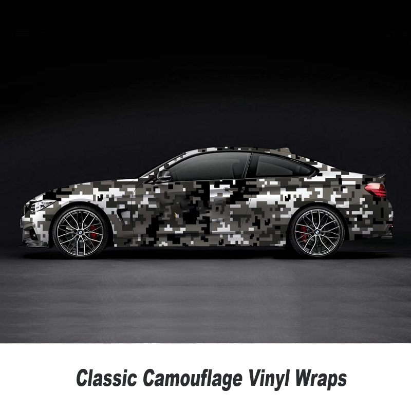 Digital Camouflage Vinyl Wrap Film Auto Sticker for Car Wrapping Motorcycle 5m/10m/15m/20m/25m/30m Over 200 style Classic style - 2