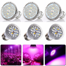 3pcs LEDs 15W 20W 30W Full Spectrum Plant Grow Light E27 LED Hydroponic D20