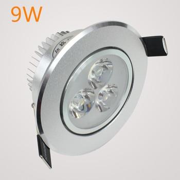 Downlight LED empotrado SOPT Venta caliente 6W 9W 12W 15W 21W AC220V LED Downlight de techo Dimmable led Downlight LED Spot Light 1