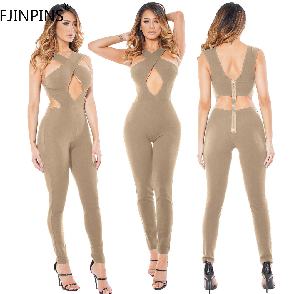 Overalls for Women Sexy Off Shoulder Elegant font b Fitness b font Jumpsuit Bodysuit Romper Fashion