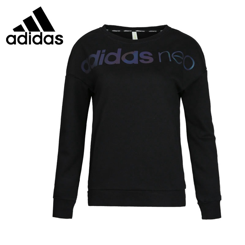 Original New Arrival Adidas NEO Label CS LOGO SWEAT Women's Pullover Jerseys Sportswear цены онлайн
