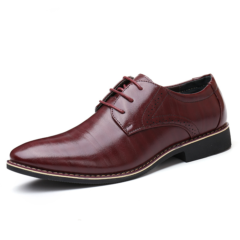 New England casual popular large size shoes Korean business dresses - Men's Shoes - Photo 4