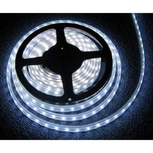 LED Strip Lights, Waterproof 5m Waterproof Cool White DC 12V 5M 3528 SMD 300 Leds LED Strips Strip Light