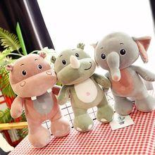 1 Pcs Baby Animal Elephant Plush Pillow Toys for Children Girl Boy Gift Kid Stuffed Plush Toy Adult Doll Pillows Birthday Gift цена 2017