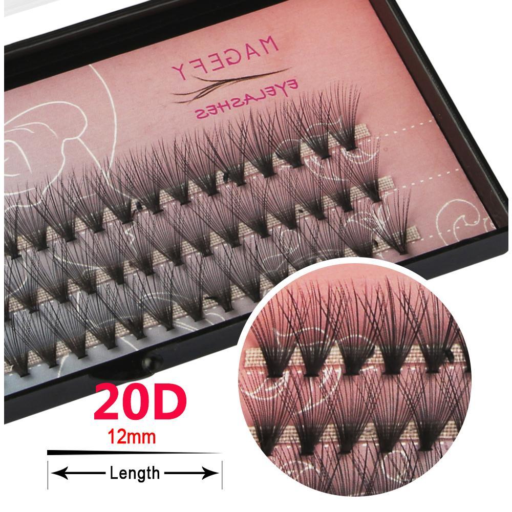Premade Volume Fan Silk Eyelashes 3D/5D/6D/10D/20D Individual Eyelash Handmade False Eye Lashes Extension Semi Permanent Makeup