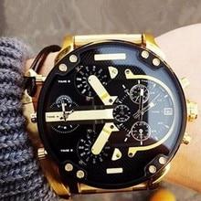 Men Large Dial Mens Sports Quartz Watch Top Brand Luxury Designer Business Clock Male Relogio Masculino