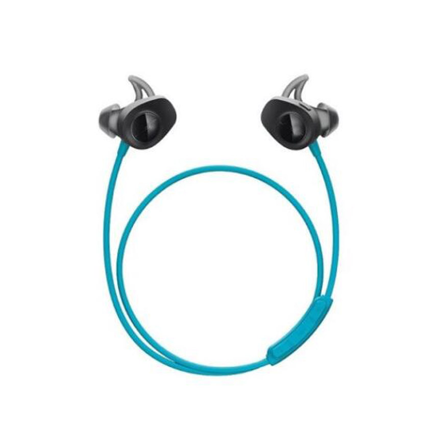 цена на New Sports wireless headset Bluetooth headset ear running fitness movement Blue Black