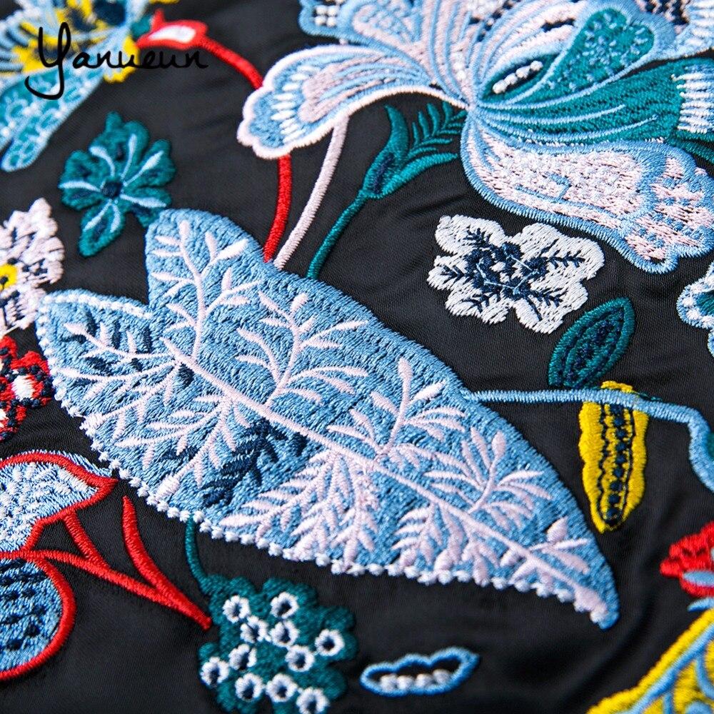 Basic Jackets Yanueun 2017 Women Jacket Brand Tops Appliques Girl Plus Size Baseball Sweatshirt Zipper Thin Bomber Long Sleeve Patchwork Coat Women's Clothing