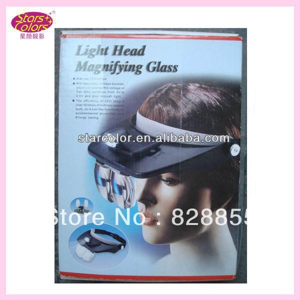 2017 new hot Makeup Tool natural false eyelashes Light Head Magnifying Glass for Eyelash Extension