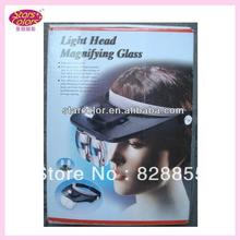 Makeup Tool natural false eyelashes Light Head Magnifying Glass for Eyelash Extension