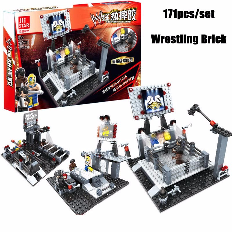 Wwe Toys For Boys : Oenux wrestlemania wrestling weightlifting gym model the