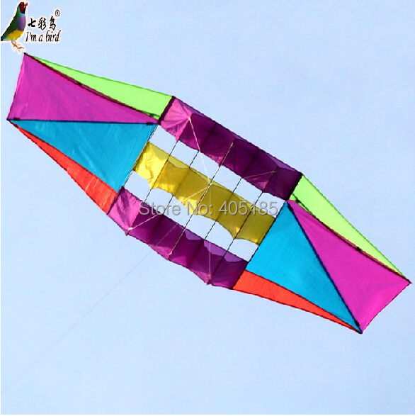 Free Shipping Outdoor Fun Sports 3D Radar Power Kite With Flying Tools-in Kites & Accessories from Toys & Hobbies    1