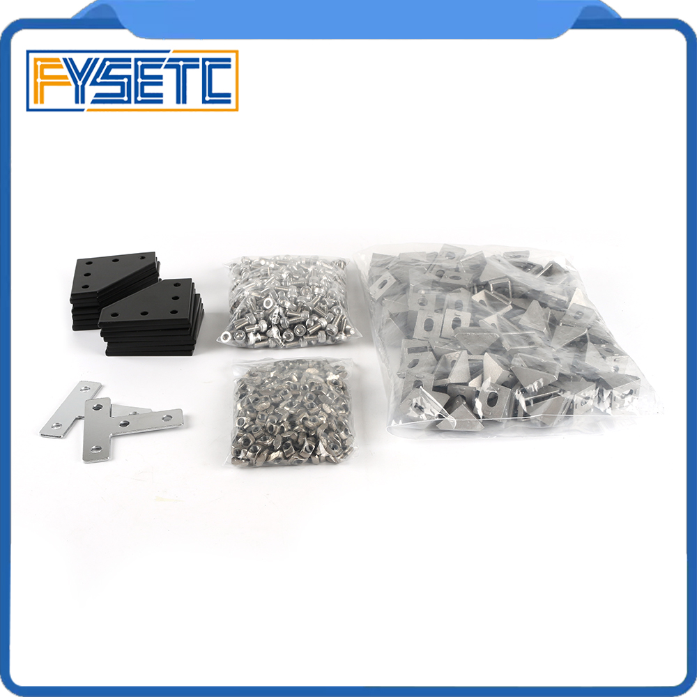 BLV Mgn Cube Frame Hardware Kit Screw Nut Hardware Parts Machine Parts For DIY CR10 Anet E12 3D Printer Parts