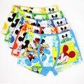 5 Pcs/lot Cartoon Cotton Children's Pants Boy Boxer Kids Boys Underwear Miki Mouse Underpants Briefs Baby Underware 4-9 Year