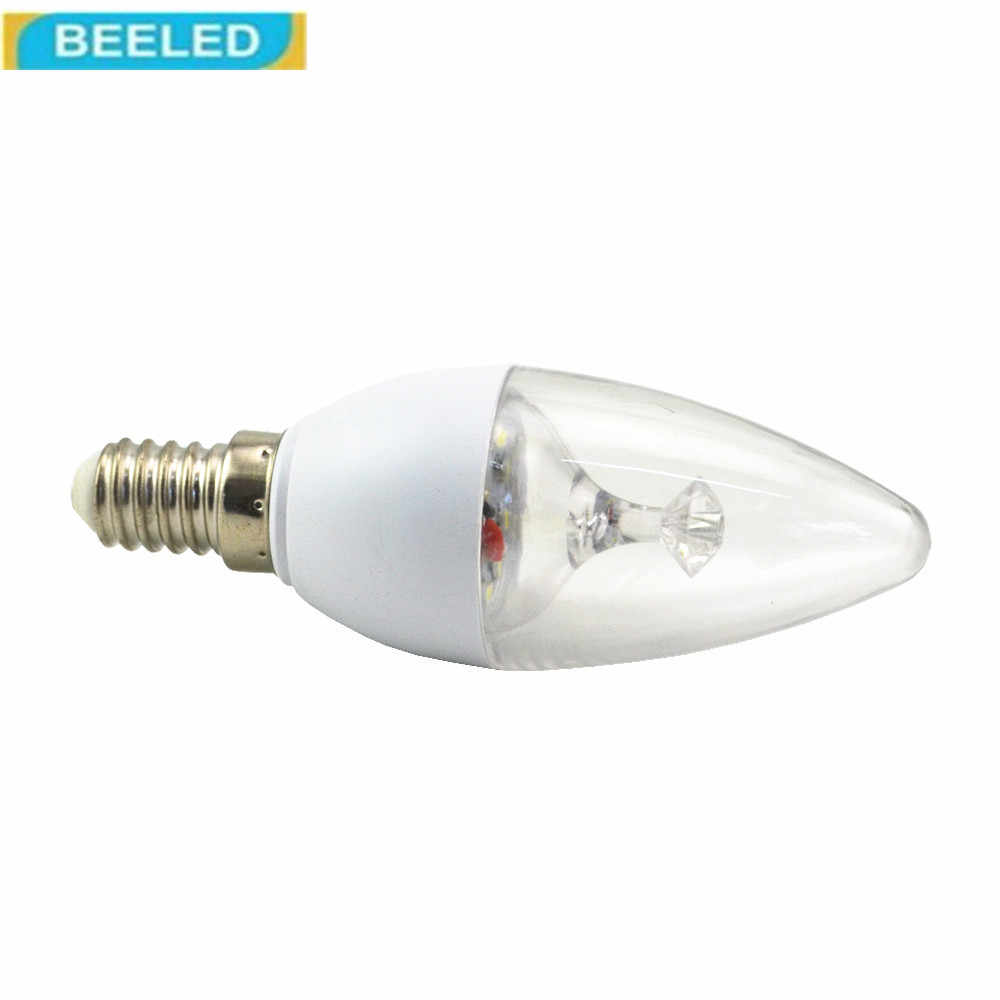 Светодиодный свет с солнечней энергией 3 Вт B15 E14 холодный белый теплый белый 220 V светодиодный B15 E14 лампа домашний декор для кристалл свет
