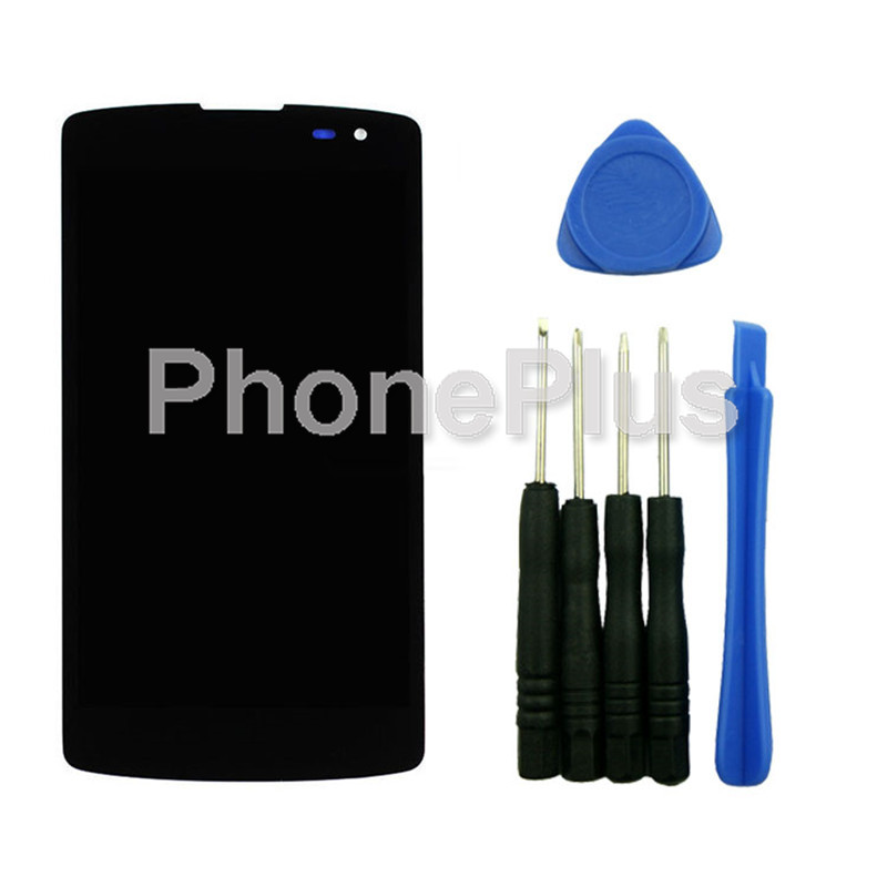 ФОТО For LG F60 F60S D390 D290 MS395 Touch Screen Panel Digitizer Glass LCD Display Assembly With Tools
