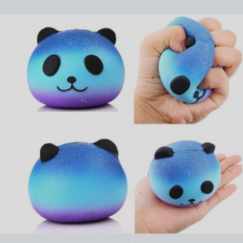 Funny Anti Stress Ball Toys Squeeze Panda Cream Scented Stress Pressure Relief Relax Novelty Fun Gifts Vent small toys ...