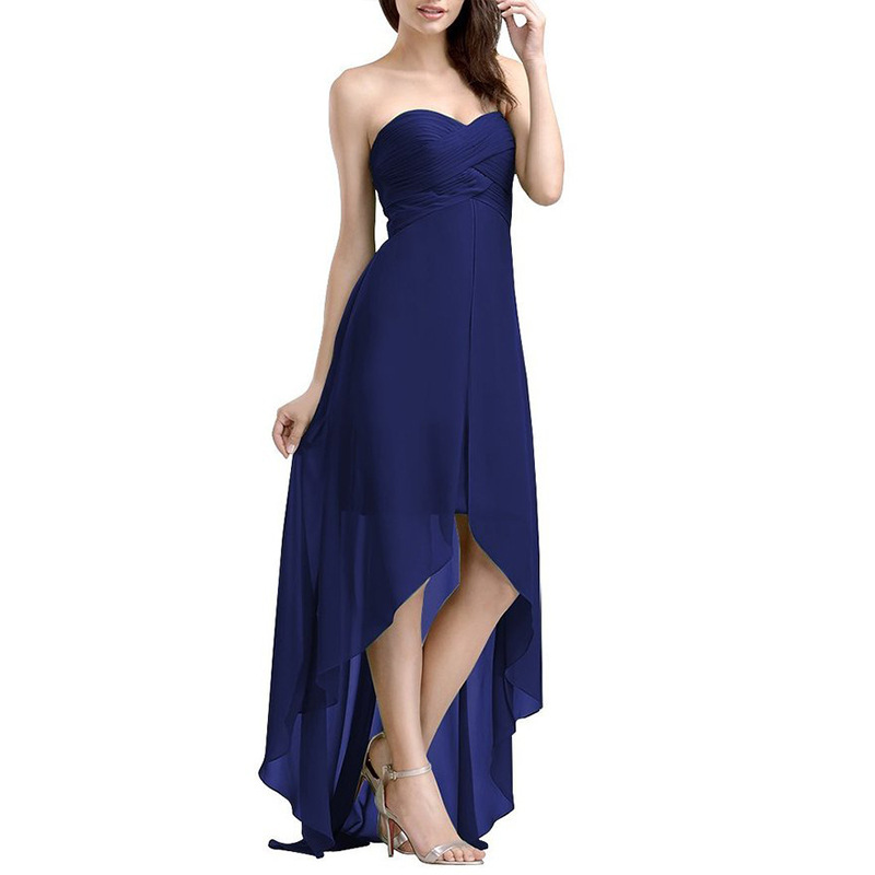 New Ladies Strapless Dress sexy pregnant dresses chiffon pregnant evening dress long vestido Party Maternity Women Maxi Dresses