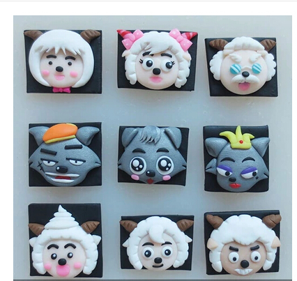 DIY Cartoon characters Series silicone mold chocolate mold fondant cake mold Jelly pudding Accord to the