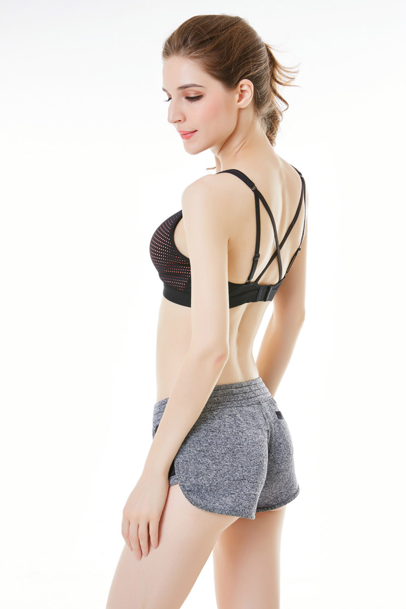 87b138a77 2019 Hollow Out Sexy Sports Bra For Fitness Yoga Running Dance Daily ...