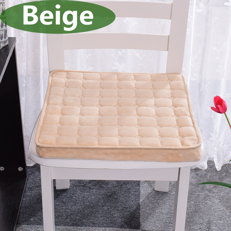 45*45cm Thicken Seat Cushion Winter Breathable Chair Cushion Comfortable Sitting Pillow Buttock Chair Cushion Soft Home Seat Pat