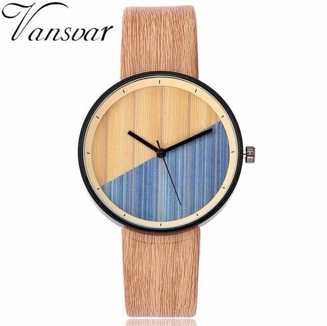 Vansvar 2018 New Women Watch Fashion Casual Quartz Watches For Women Ladies Anal