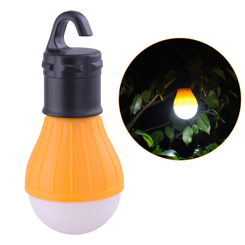 Outdoor LED Camping Lantern Portable Hanging Convenient Camp Lights Use AAA Battery For Fishing Tent Bulb Lamp Drop Shipping