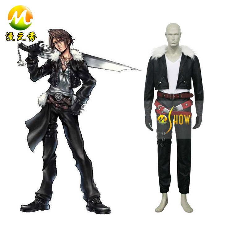 Anime Cosplay Final Fantasy VIII 8 Squall Costumes For Sale Halloween Party Night Clothes Custom Made In From Novelty
