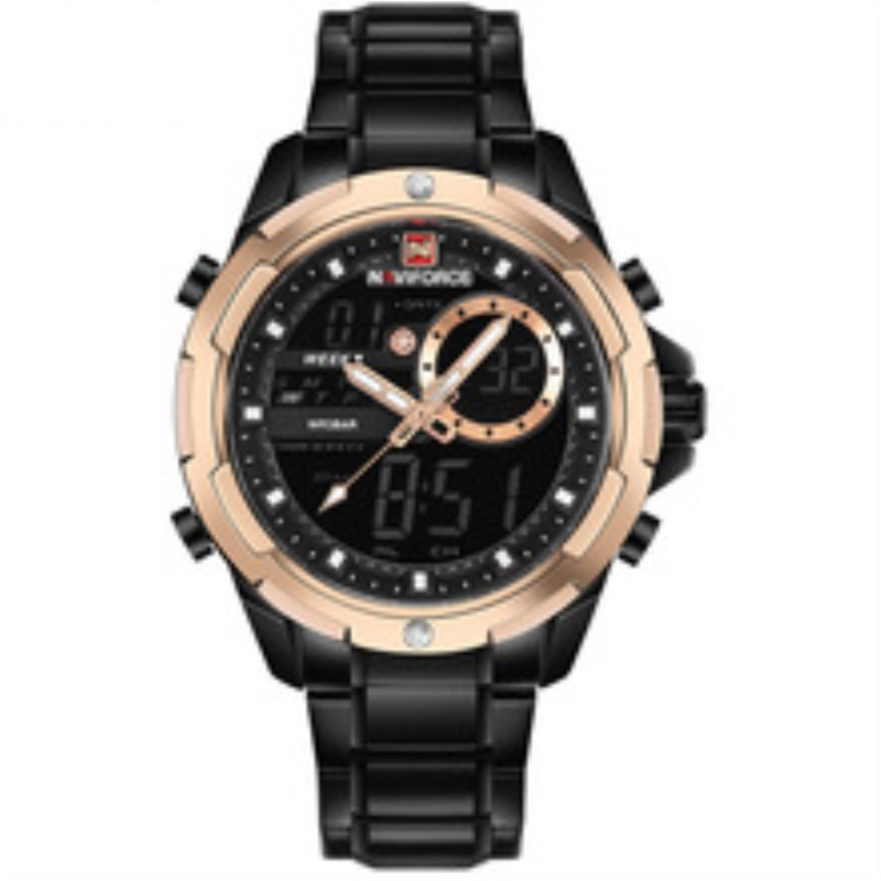 New Watch Men Sport Man Watches Top Brand Luxury Military Army Stainless Steel Analog LED Digital Quartz Male Clock Reloj Hombre все цены