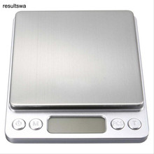 New 500g x 0.01g  Jewelry Weight Digital Scale Portable Mini Electronic Scales Pocket Case Postal Kitchen With 2 Tray