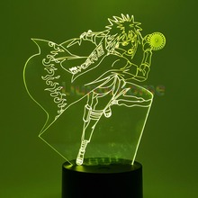 Naruto Minato 3D LED Color Changing Visual Illusion USB Night Lights