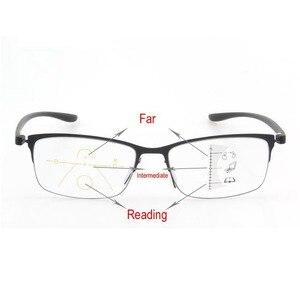 Image 5 - Fashion Progressieve Bril Anti Blue Ray Multifocale Lezen Brillen Verziend Bril Unisex Ontwerp Brilmontuur