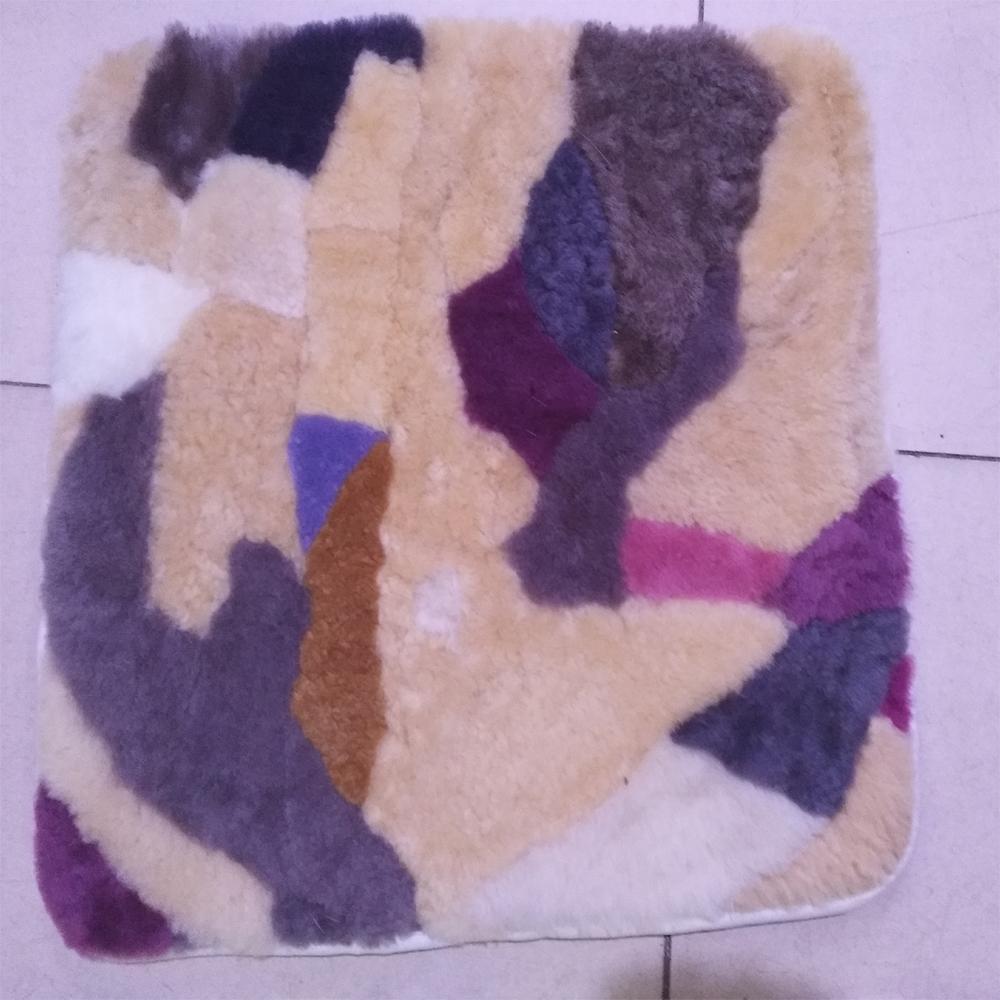 3 Stcke Echt Gneuine Australien Schaffell Kissen Set Wolle Mit Pp Baumwolle Dekorative Fr Wohnzimmer Sofakissen