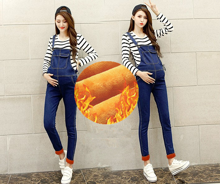 Maternity Denim Overalls Maternity Jeans for Pregnant Women Pregnancy Pantselastic Waistband Suspender Trousers Belly Pants B427 new jeans maternity pants for pregnant women dungarees clothes trousers prop belly legging pregnancy clothing bib overalls pants