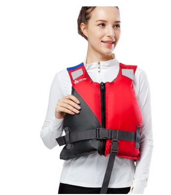 Professional Life Vest For Drifting Boating Survival Fishing Safety Jacket Water Sport Wear Nylon Waterproof Adults Surfing Vest survival nylon bracelet brown