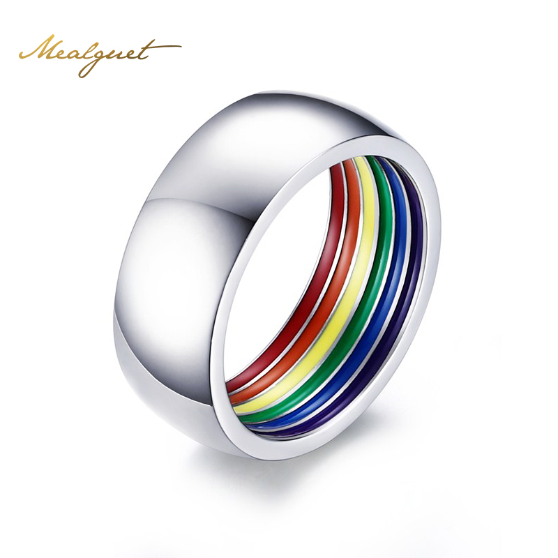 gay pride rings