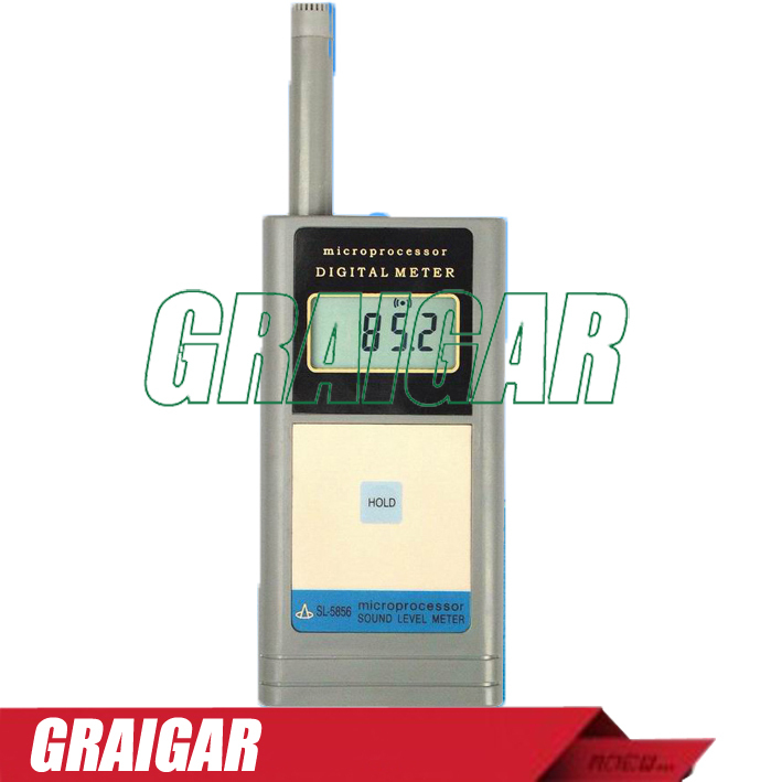 Portable Sound Level Meter SL5856 sound meter sl 5856 40 125db free shipping