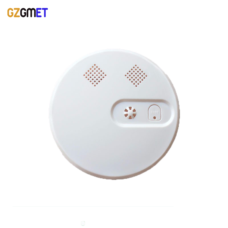 GZGMET Wireless 433MHZ Smoke Detector 85db SMT Design CE High Reliable Home Security Fire Alarm Sensor wireless smoke fire detector for wireless for touch keypad panel wifi gsm home security burglar voice alarm system