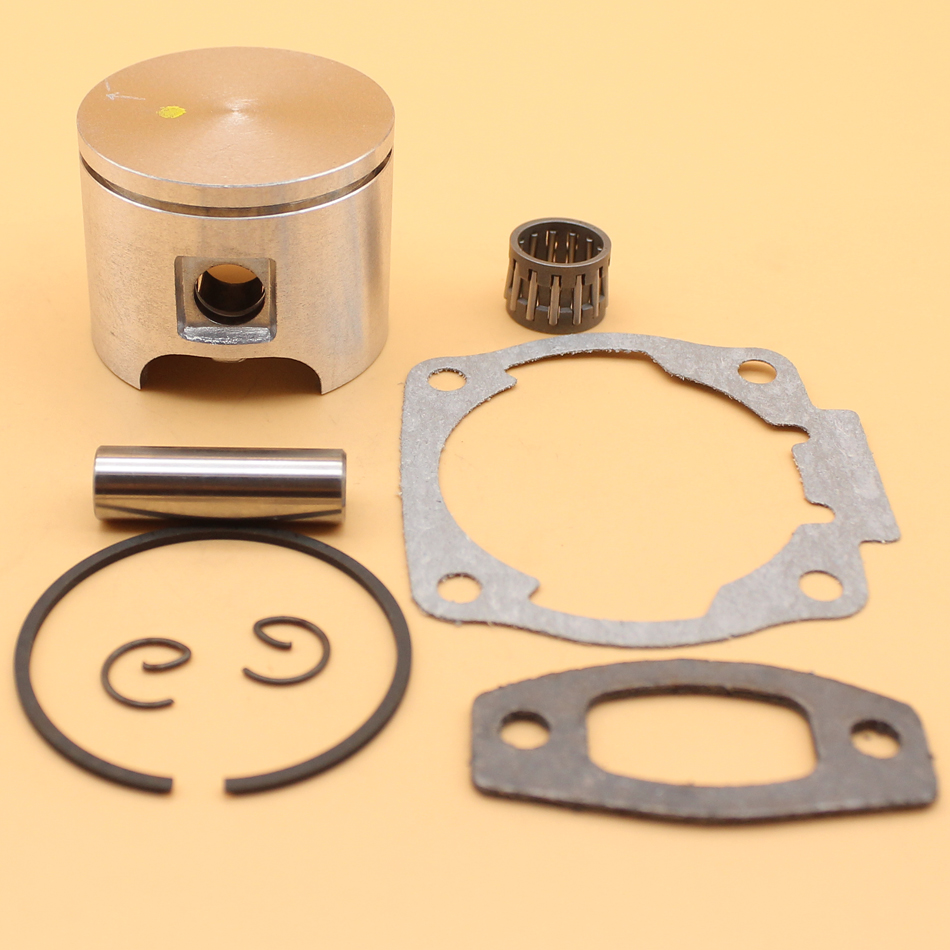 46MM PISTON BEARING CYLINDER MUFFLER GASKET KIT FOR HUSQVARNA 55, 55 RANCHER CHAINSAW 503 60 81-71 / 503608171
