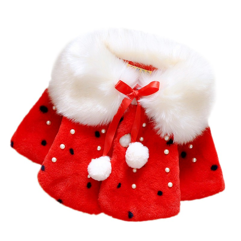 Baby Clothes Coat Winter Warm Baby Girl Coat Princess Toddler Clothes Baby Girls Jacket New Year 2019