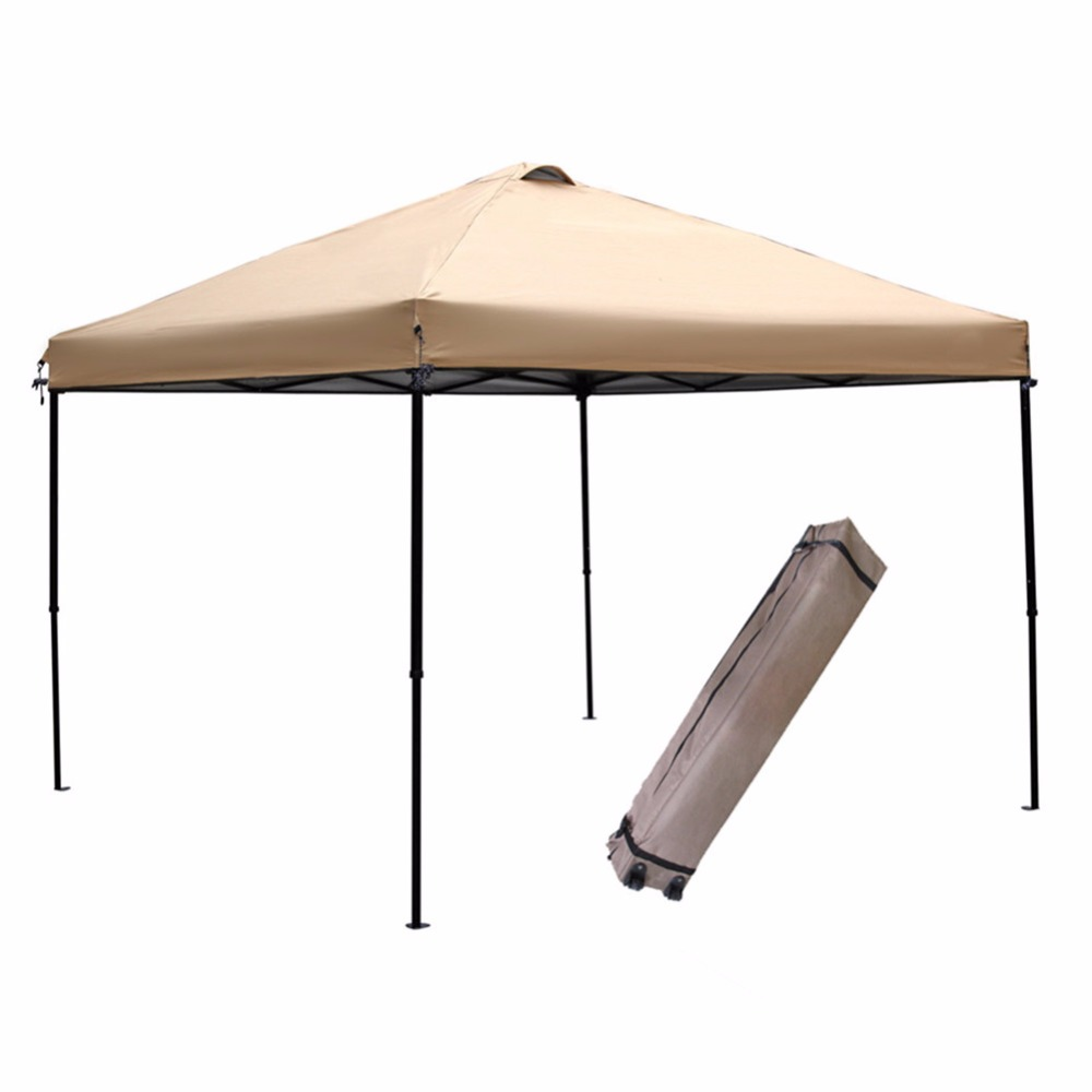 Abba Patio 10x10 Feet Outdoor Portable Pop Up Commercial Canopy Shelter with Vent PU Treated Oxford Fabric for Water -in Gazebos from Home u0026 Garden on ...  sc 1 st  AliExpress.com & Abba Patio 10x10 Feet Outdoor Portable Pop Up Commercial Canopy ...