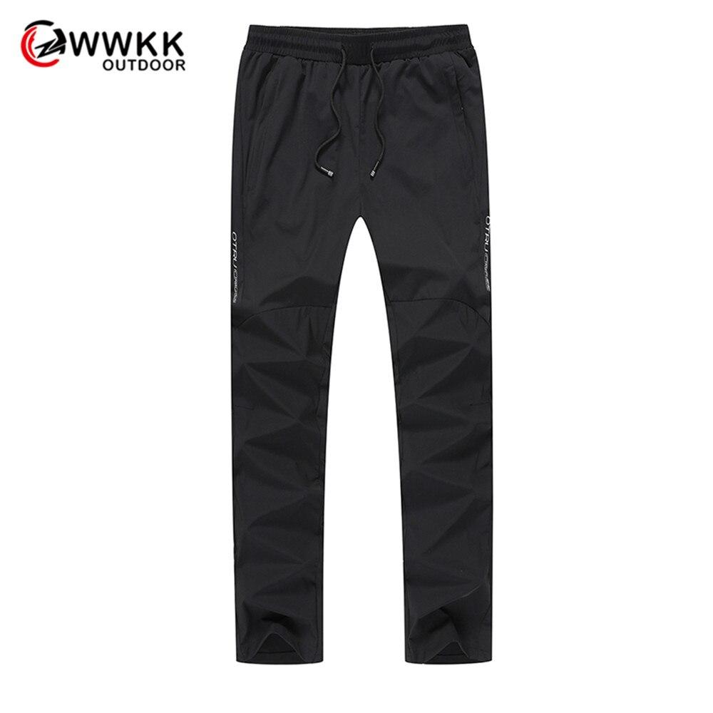 WWKK новые мужские дышащие походные шелковые брюки для спорта и тренировок быстросохнущие брюки для отдыха