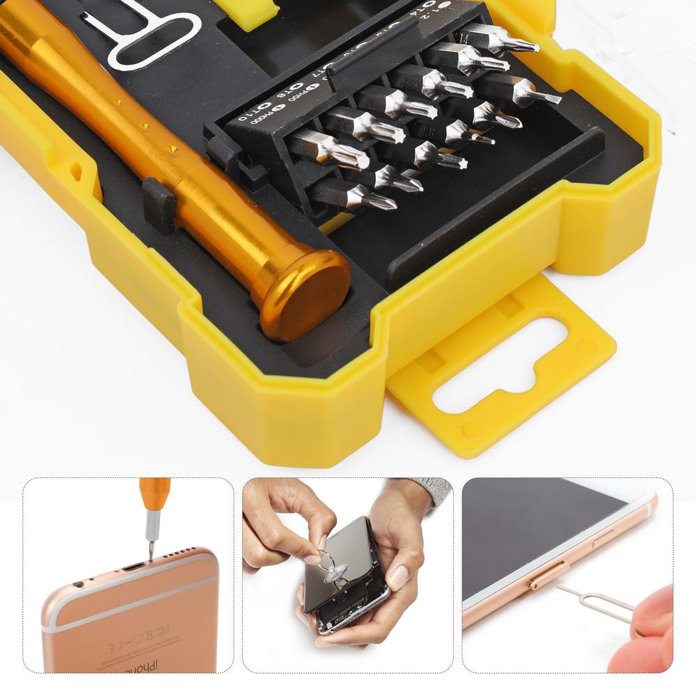 Hot Sale Interchangable 18in1 Precision Screwdriver Set