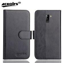 Ergo V600 Vega Case 6 Colors Dedicated Soft Flip Leather Special Crazy Horse Phone Cover Cases Credit Card Wallet