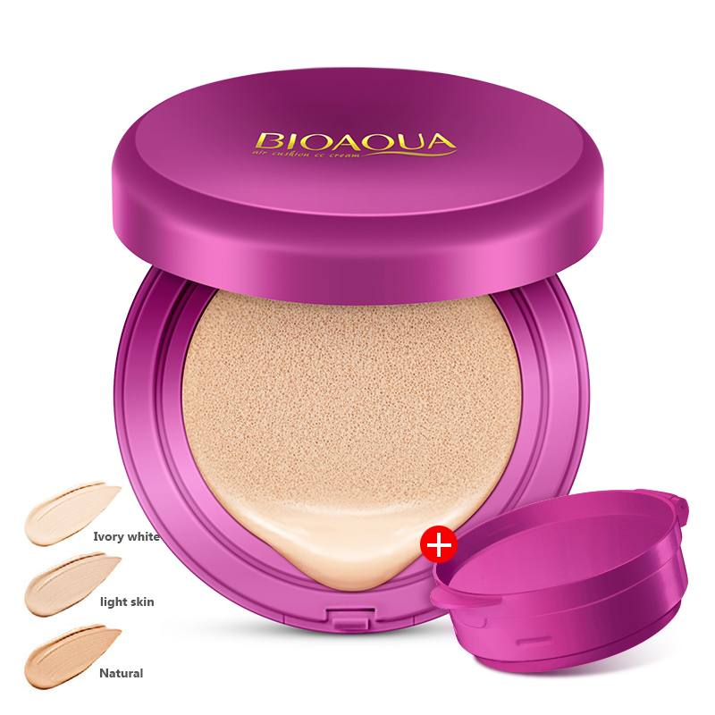 все цены на BIOAQUA Air Cushion BB Cream Concealer Moisturizing Foundation Makeup korean cosmetics Whitening Face Beauty Makeup онлайн
