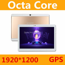 Más nuevo 10.1 pulgadas Octa Core 3G 4G LTE Tablet Pc Android 6.0 RAM 4 GB ROM 64 GB Tablet PC Dual de la Tarjeta Dual SIM Bluetooth GPS tabletas